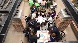Estudiantes secundarios presentaron ideas para el Presupuesto Participativo