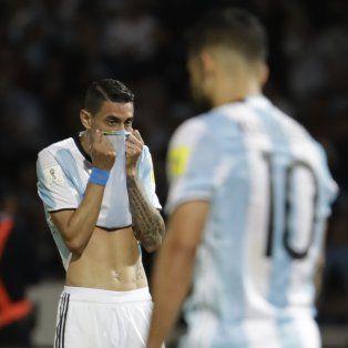 Di María dijo que hay que seguir bancando el proceso del entrenador Edgardo Bauza.