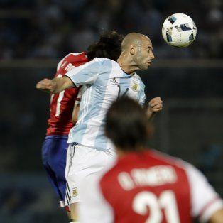 Del resultado negativo ante los guaraníes, Mascherano admitió que les ganaron bien y que fueron superados por Paraguay.