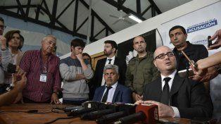Los fiscales explicaron los detalles de los allanamientos realizados en Rosario.