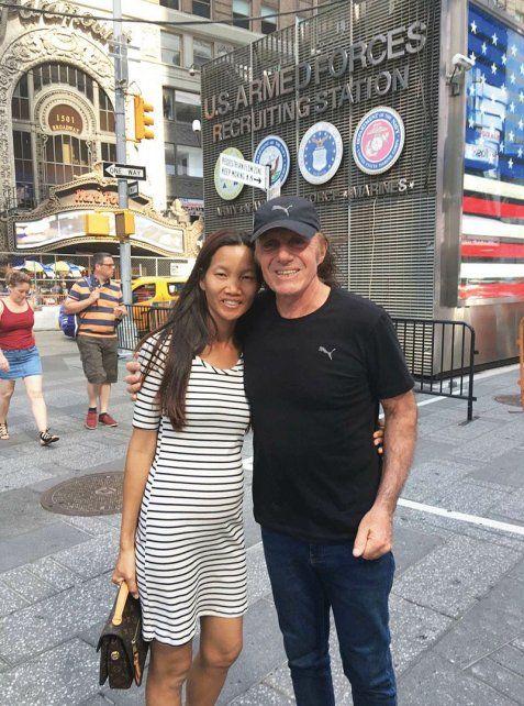 El ex tenista y la tailandesa se conocieron cuando el argentino viajaba por Asia en el 2000