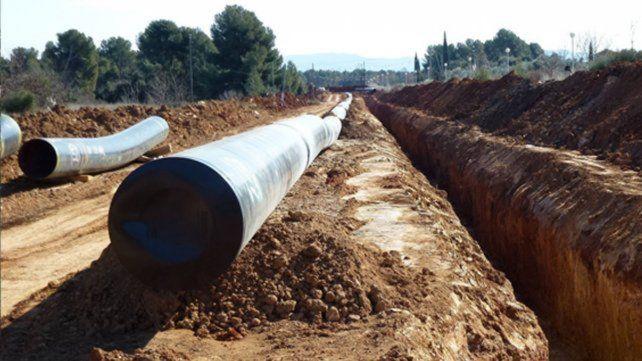 En marcha. El ministro Aranguren afirmó que el gasoducto se termina el 2017.