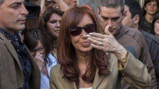 Agitada. Cristina también presentó un escrito en la causa de Lázaro Báez.