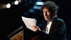 El cantante y escritor ganó el Nobel de Literatura.