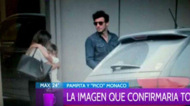 Nuevas imágenes de Pampita y Pico Mónaco que avanzan con su romance de perfil bajo