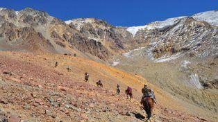 Al tranco por las alturas. El cruce de la cordillera de Los Andes
