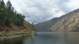 Unica. La laguna de Purhuay se distingue entre las otras más de 430 que conforman el Parque Nacional del Huascarán.