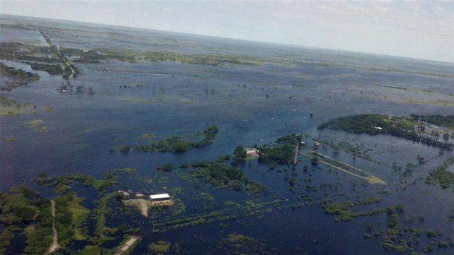 Desastre. Las inundaciones que afectaron a la ciudad de Santa Fe este año dejaron un tendal de damnificados.