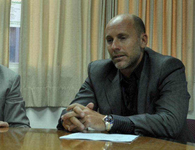 Defensor. Adrián Martínez llevó adelante ayer la defensa de Ezequiel P.