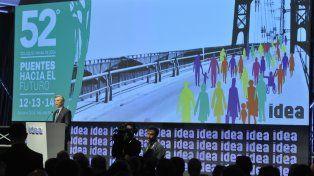 Euforia. Macri es el gran referente de los empresarios de Idea.