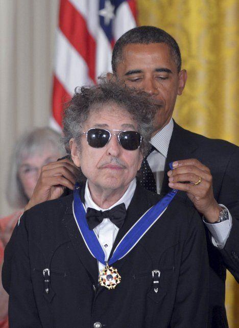 Fan de lujo. El presidente Barack Obama le otorgó la Medalla de la Libertad.