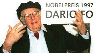 Darío Fo. Su obra quedará como la herencia de un gran italiano en el mundo.