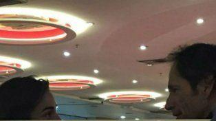 La primera imagen de Juana Viale y Santiago Lange juntos en el aeropuerto de Ezeiza