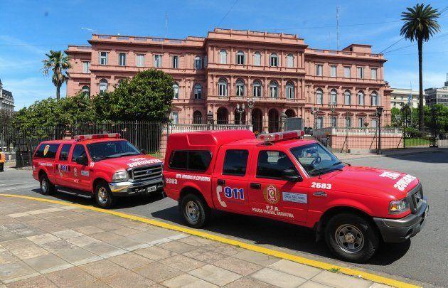 Tensión y conmoción en la Casa Rosada por una nueva amenaza de bomba
