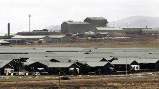 La base militar en Malvinas donde los ingleses realizarán los ejercicios militares.