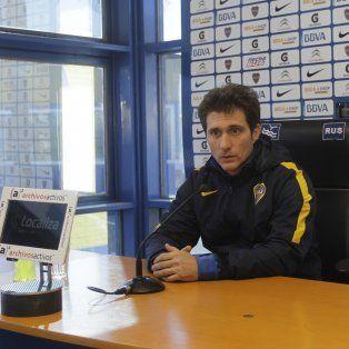 Guillermo Barros Schelotto, el DT xeneize, no quiere ventaja deportiva con Central.