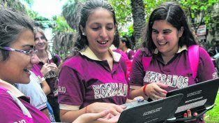Las netbooks de Conectar Igualdad se destinaron a los chicos y las chicas de secundaria de escuelas públicas de todo el país.