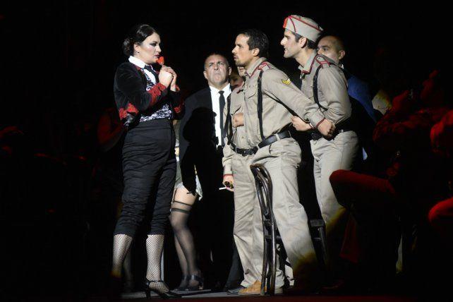 Mujer fatal. La Carmen de la puesta de Pablo Maritano es una transgresora.