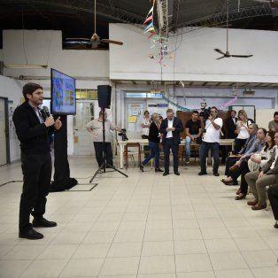 Presentación. El ministro de Seguridad, Maximiliano Pullaro, presentó ayer en sociedad el novedoso sistema tecnológico.