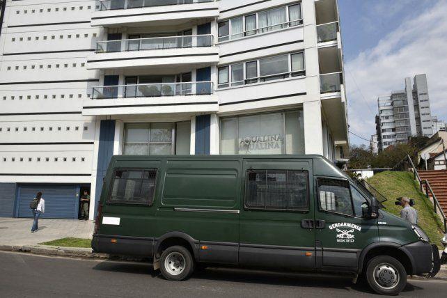 Barrio Martin. El miércoles hubo más de 20 allanamientos en sectores exclusivos de la ciudad.