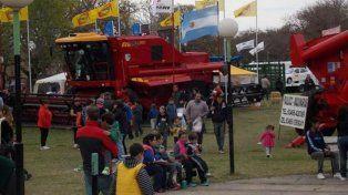 La Expo Cima muestra la producción de maquinaria destinada a la actividad agrícola de la región.