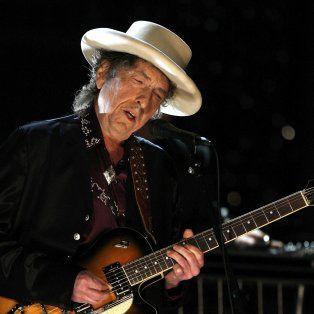 En el salón del hotel Cosmopolitan de Las Vegas, donde actuó el jueves, Dylan encadenó sus canciones como si de nada se tratara.