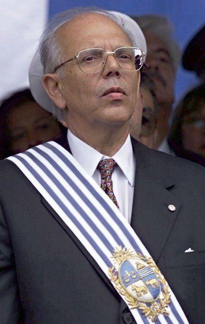 Grave. El colorado Jorge Batlle.