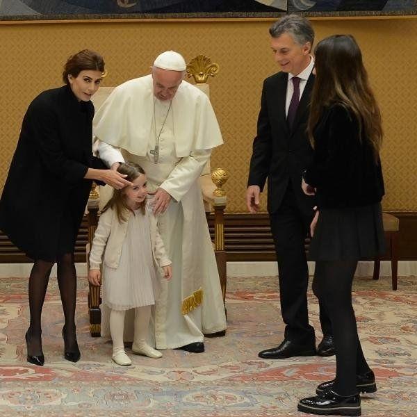 Le pedí al Papa para que rece por mí y que Dios me ilumine para llevar a la Argentina por el camino correcto