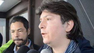 El vicepresidente canalla cargó contra Diego Abal tras el partido ante Estudiantes.