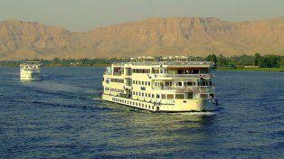 Los barcos que están en la mira son similares a los que realizan trayectos especiales en un sector de Egipto.