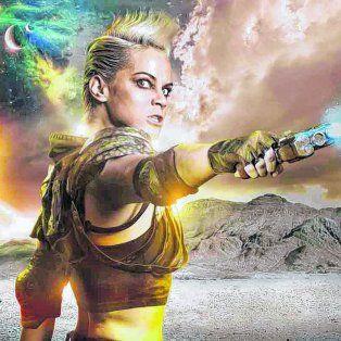 Luz Cipriota se rapó la cabeza para preparar el personaje de Altea, una guerrera, medio esquizofrénica: un mono con navaja, dijo la actriz.