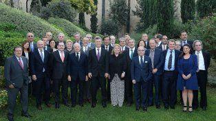 Macri se reunió en un hotel en Roma con más de 25 diplomáticos argentinos acreditados en Europa.