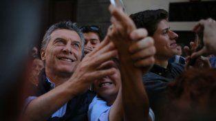 Selfies. Macri