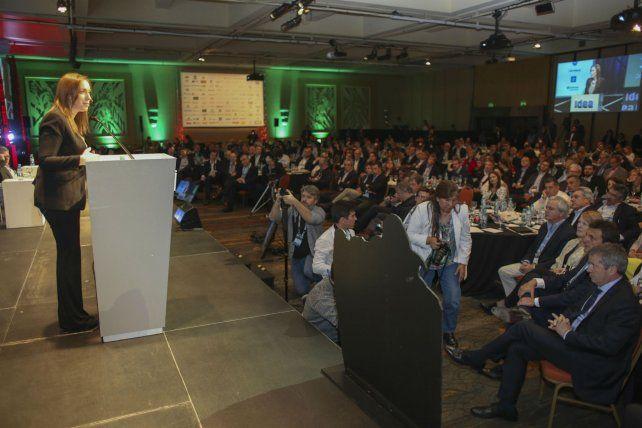 Idea. Los empresarios confían en el crecimiento de la economía argentina.