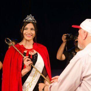 Soberana. Danisa Zendra fue coronada reina del encuentro.