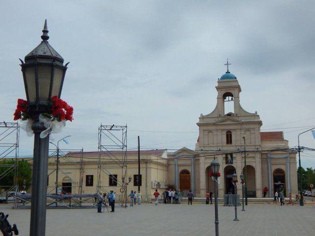 Acervo. La iglesia Nuestra Señora del Tránsito tiene un museo sobre Brochero.