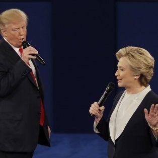 Guerra sucia. Trump se mostró dispuesto a someterse a un control antidrogas antes del tercer y último debate.