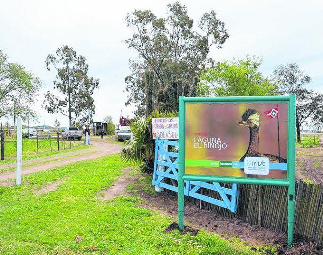 Iniciativa. Se busca proteger la flora y la fauna de la laguna El Hinojo.