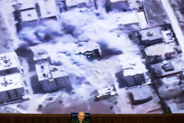Rusia continuará bombardeando Alepo