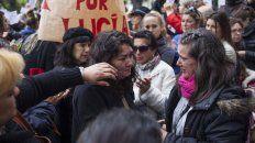 Mar del Plata. Familiares, amigos y compañeros de Lucía marcharon por justicia para los asesinos de la chica.