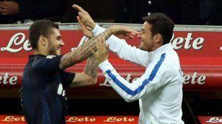 Zanetti le soltó la mano a Icardi y anticipó que podría dejar de ser capitán del Inter