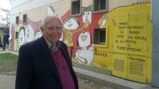 El ex rector del secundario de la UBA afirma que los mejores días de enseñanza los compartió con los adolescentes.