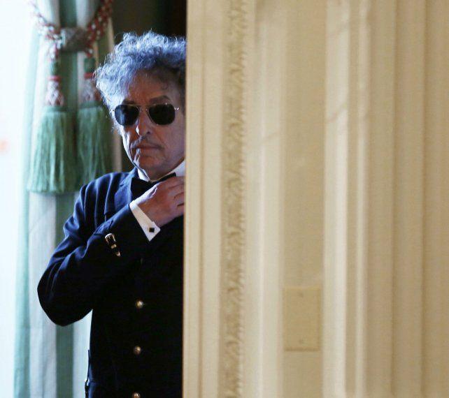 El cantante y compositor Bob Dylan