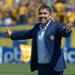 El entrenador canalla podrá estar el domingo en el clásico contra Newells.