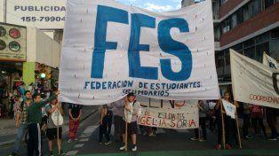La concentración se realizó pasadas las 18 en Entre Ríos y San Luis.