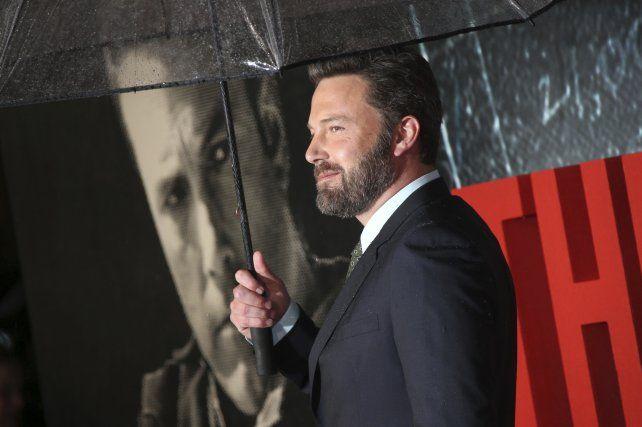 Ben Affleck estrenó su nueva película, El contador, y triunfa en la taquilla