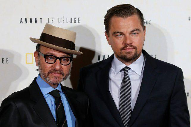DiCaprio sigue en lucha por el planeta: presentó su documental Antes del diluvio