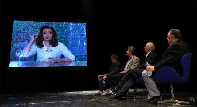 La expresidenta habló a través de una videoconferencia en el Día de la Lealtad.