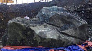 Encuentran roca de jade de 175 toneladas en Birmania, que está valuada en US$ 170 millones