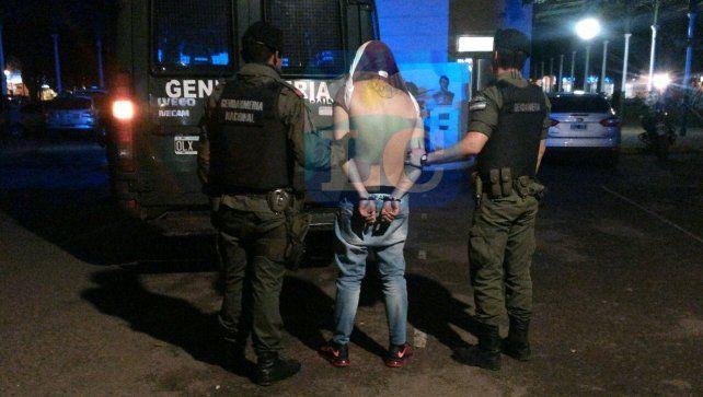 Alexis Camino fue detenido el sábado pasado en la zona sur de la ciudad.